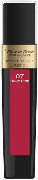 Помада Pierre Rene жидкая Matte Fluid 07 Ruby Pink 6 мл (3700467827901) - изображение 1