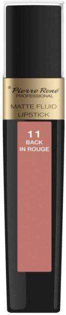Помада Pierre Rene жидкая Matte Fluid 11 Back In Rouge 6 мл (3700467841853) - изображение 1