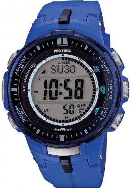 Жіночі годинники CASIO PRW-3000-2BER - зображення 1