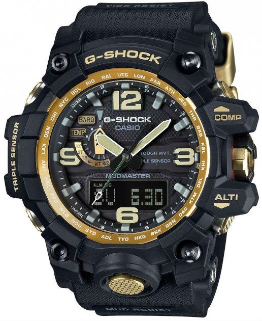 Чоловічі годинники CASIO GWG-1000GB-1AER - зображення 1
