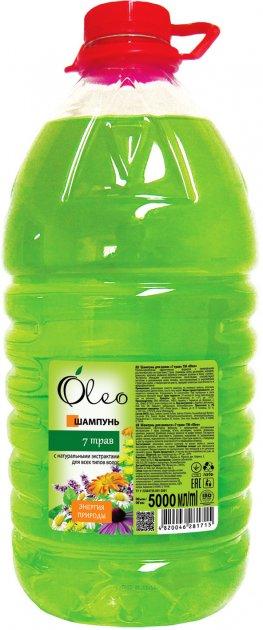 Шампунь Oleo 7 трав 5 л (4820046281715) - изображение 1