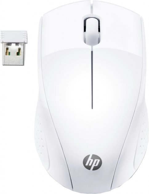 Миша HP 220 Wireless White (7KX12AA) - зображення 1