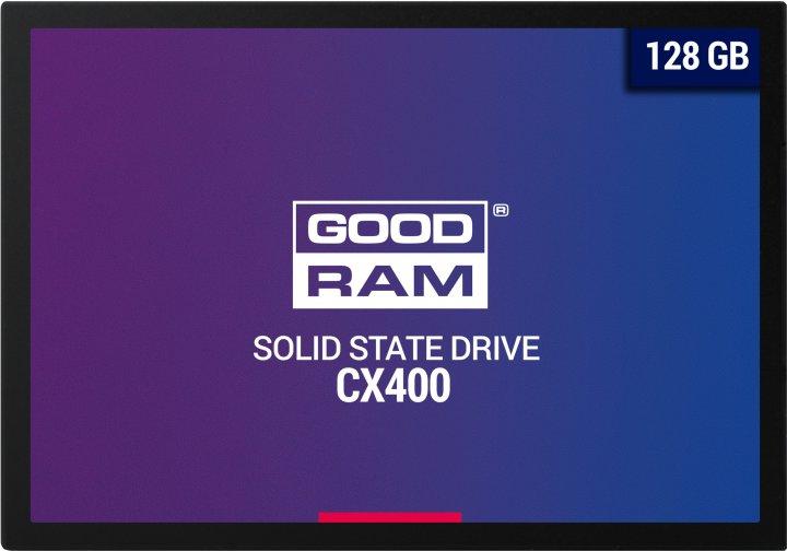"""Goodram CX400 128GB 2.5"""" SATAIII 3D TLC (SSDPR-CX400-128) - изображение 1"""