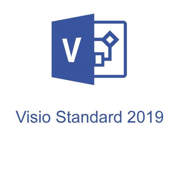 Офісна програма Microsoft Visio Std 2019 стандартний 1 ПК (електронний ключ, всі мови) (D86-05822) - зображення 1