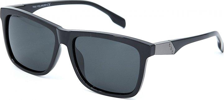 Солнцезащитные очки мужские поляризационные SumWin Р043-08 Черные глянцевые - изображение 1