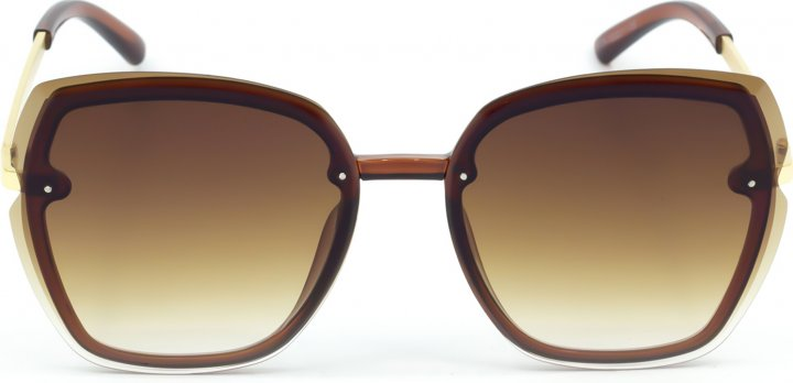 Солнцезащитные очки женские SumWin KA9136-02 Коричневые - изображение 1