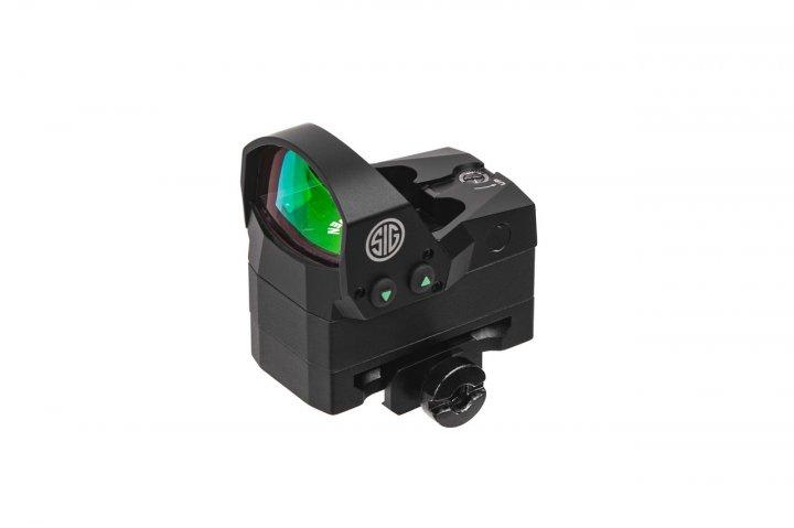 Приціл коліматорний Sig Optics ROMEO1, 1x30MM, 3MOA RED DOT - зображення 1