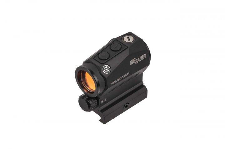 Приціл коліматорний SIG Optics ROMEO 5 XDR, 1x20mm, Predator Green Dot, M1913, Black - зображення 1