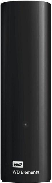 "Жорсткий диск Western Digital Elements Desktop 12TB WDBWLG0120HBK-EESN 3.5"" USB 3.0 External Black - зображення 1"
