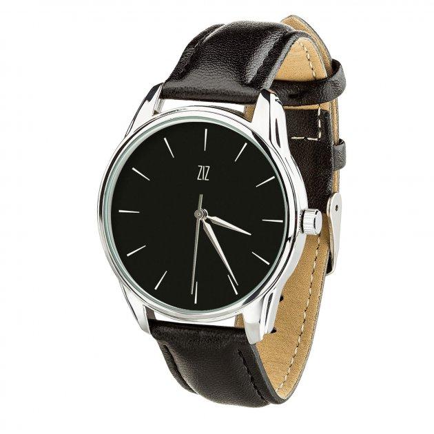 """Жіночий годинник ZIZ """"Білим по чорному"""" 4616453 - зображення 1"""