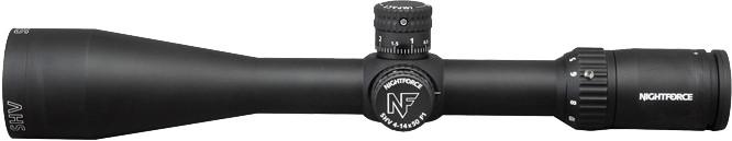 Приціл Nightforce SHV 4-14x50 ZeroSet F1 0.250 MOA сітка MOAR з підсвічуванням - зображення 1