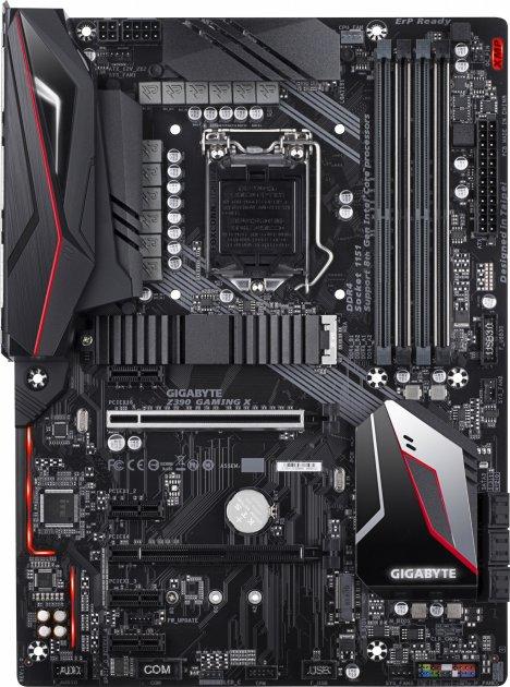 Материнская плата Gigabyte Z390 Gaming X (s1151, Intel Z390, PCI-Ex16) - изображение 1