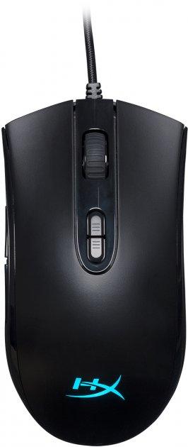 Миша HyperX Pulsefire Core USB Black (HX-MC004B) - зображення 1