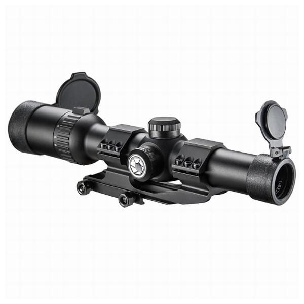 Приціл оптичний Barska AR6 Tactical 1-6x24 (IR Mil-Dot R/G) - зображення 1