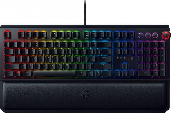 Клавиатура проводная Razer BlackWidow Elite Yellow Switch USB RU (RZ03-02622700-R3M1/R3R1) - изображение 1