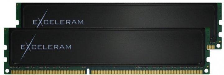 Оперативна пам'ять Exceleram DDR3-1600 16384MB PC3-12800 (Kit of 2x8192) Black Sark (E30207A) - зображення 1