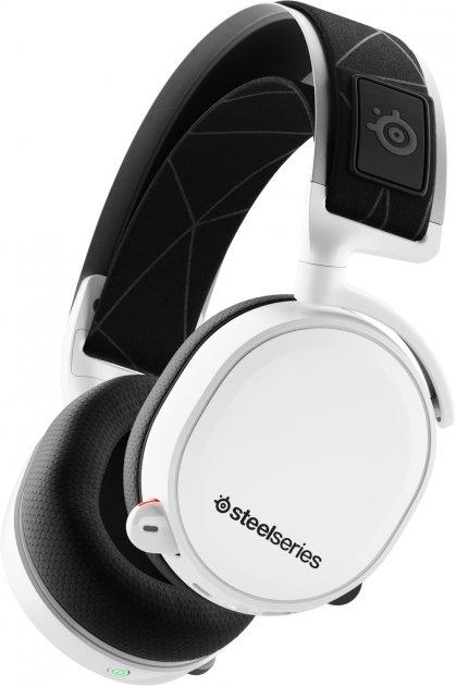 Наушники SteelSeries Arctis 7 2019 Edition Wireless White (SS61508) - изображение 1