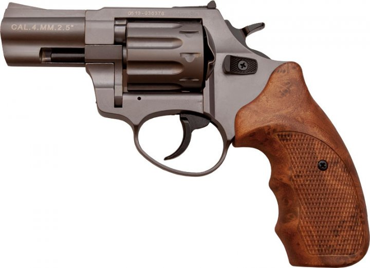 """Револьвер флобера Stalker Titanium 2,5"""" wood - зображення 1"""