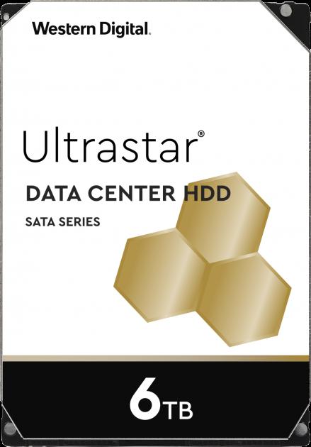 "Жорсткий диск Western Digital Ultrastar DC HC310 6TB 7200rpm 256MB HUS726T6TALE6L4_0B36039 3.5"" SATA III - зображення 1"