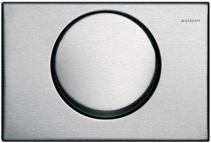 Панель смыва GEBERIT Delta 15 нержавеющая сталь 115.101.00.1 - изображение 1
