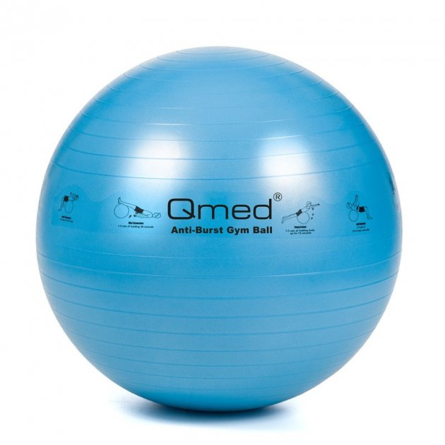 Фитбол - Qmed ABS Gym Ball 75 см. Синий - изображение 1