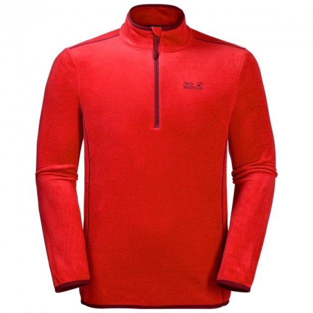 Флис ECHO MEN Jack Wolfskin 1706981-2681 XL Красный (4055001946884) - изображение 1