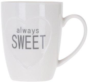 Чашка Excellent Houseware 350 мл (Q75900210_always_sweet_white) - изображение 1