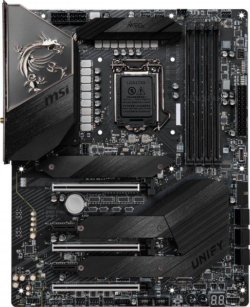 Материнська плата MSI MEG Z490 Unify (s1200, Intel Z490, PCI-Ex16) - зображення 1