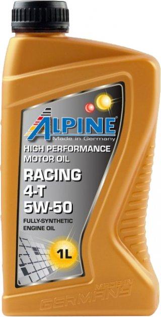 Моторное масло Alpine Racing 4T 5W-50 1 л (2425-1) - изображение 1