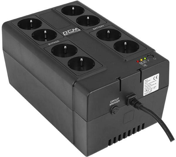 ДБЖ Powercom CUB-850N - зображення 1