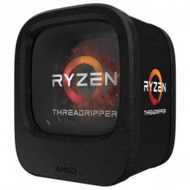 Процесор CPU AMD 8C/16T Ryzen Threadripper 1900X 3,8 GHz-4,0 GHz(Turbo)/16MB/180W (YD190XA8AEWOF) sTR4 BOX - зображення 1