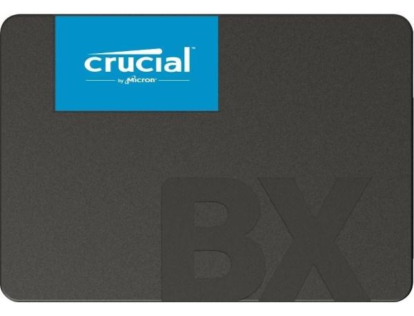 """Твердотільний диск SSD 2.5"""" 120GB Crucial BX500 SATA 3, 3D TLC, Read/Write - 540Mb/s /500Mb/s (CT120BX500SSD1) - зображення 1"""