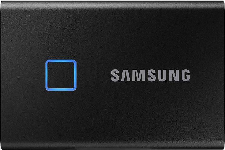 Samsung Portable SSD T7 TOUCH 500GB USB 3.2 Type-C (MU-PC500K/WW) External Black - зображення 1