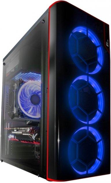 Корпус Frime Vision Blue LED (Vision-U3-3BSRF-WP) - изображение 1