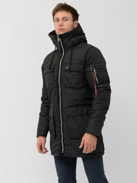 Куртка Alpha Industries N-3B Skytrain Parka MJN48505C1 2XL Black - изображение 1