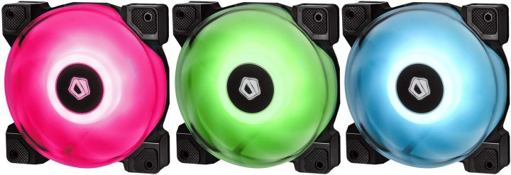 Кулер ID-Cooling DF-12025-RGB Trio (DF-12025-RGB Trio) - изображение 1