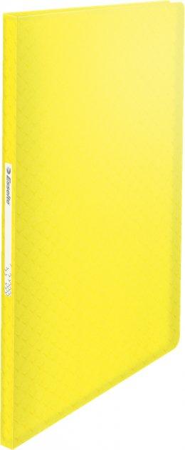 Папка пластиковая Esselte Colour'ice А4 40 файлов PP желтая (626225)
