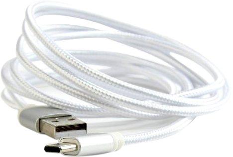 Кабель Cablexpert USB - USB Type-C 1.8 м Silver (CCB-mUSB2B-AMCM-6-S) - зображення 1