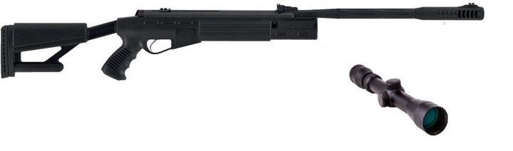 Пневматична гвинтівка Hatsan AirTact з прицілом 3-9×32 Sniper AR - зображення 1