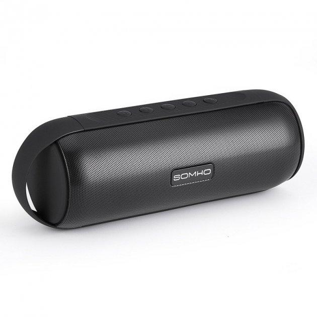 Bluetooth колонки Somho S327 Super Bass Stereo Black - изображение 1