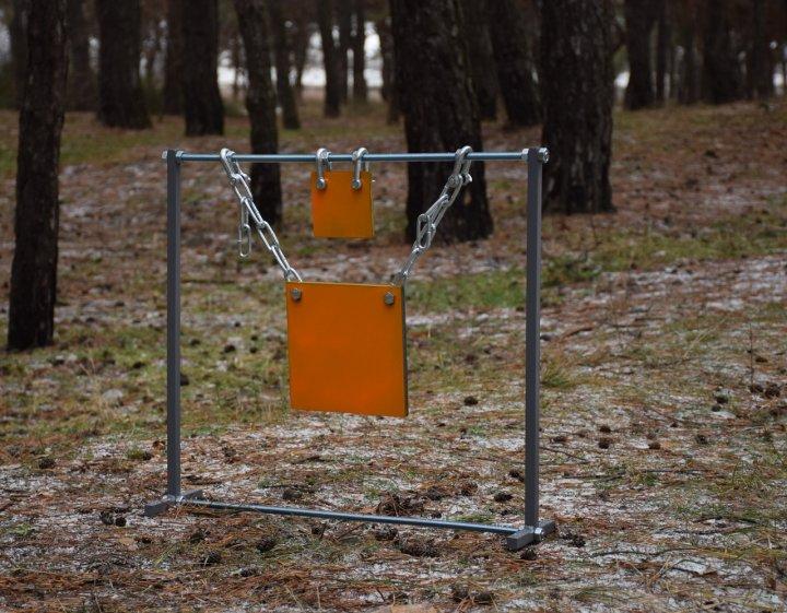 Стійка мала з квадратними гонгами 200мм і 100мм Сателіт (635) - зображення 1