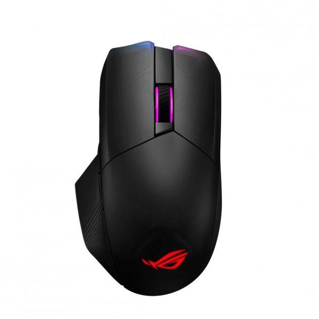 Мишка ASUS ROG Chakram Wireless Black (90MP01K0-BMUA00) - зображення 1