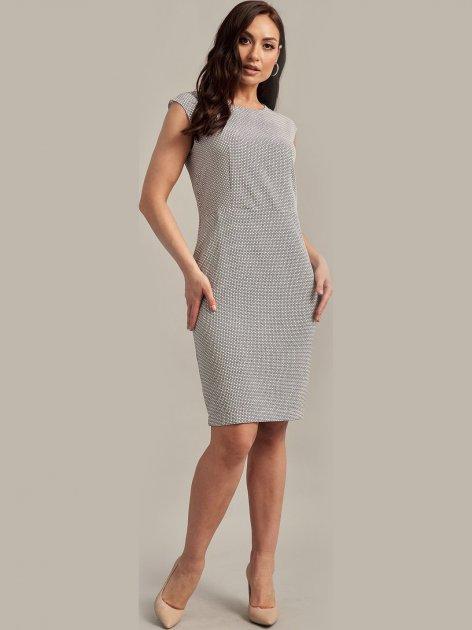 Платье Le Bourdon 104FM/KR-115 48UA Серое (NB2000001104651) - изображение 1