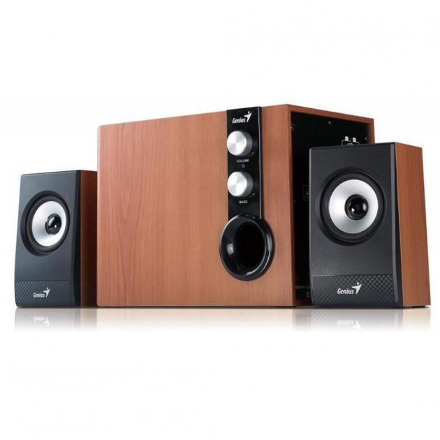 Акустична система 2.1 Genius SP-HF1250B II Wood (31730012400) - зображення 1