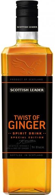 Виски Scottish Leader Twist of ginger 0.7 л 35% (5029704219209) - изображение 1