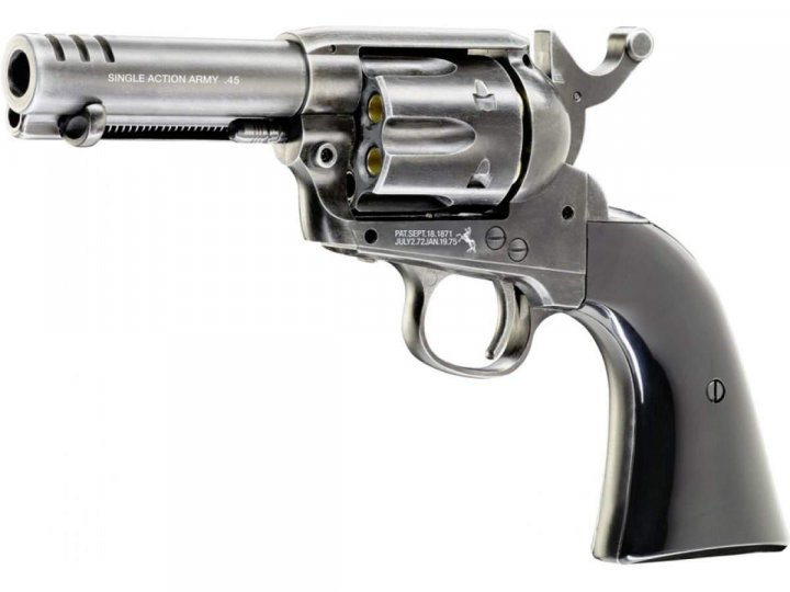 "Пневматичний пістолет Umarex COLT SAA .45-3,5"" custom shop edition - зображення 1"