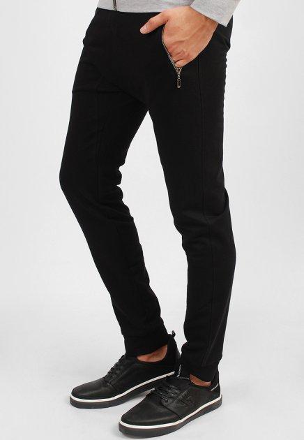 Спортивні штани чорні SAB 15822 XL - зображення 1