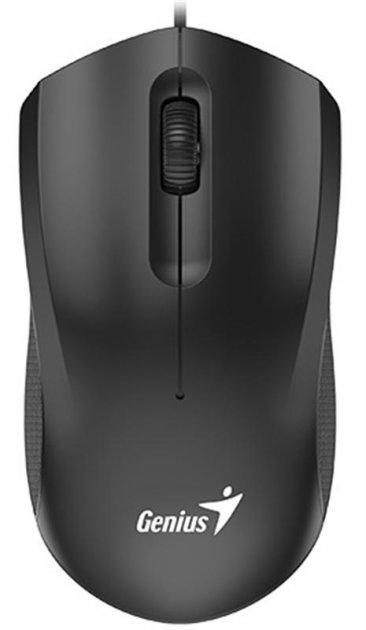 Миша Genius DX-170 (31010238100) Black USB - зображення 1