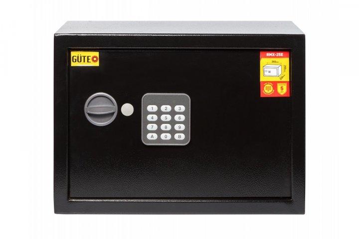 Офисный сейф GUTE ЯМХ 25Е Черный (070214) - изображение 1