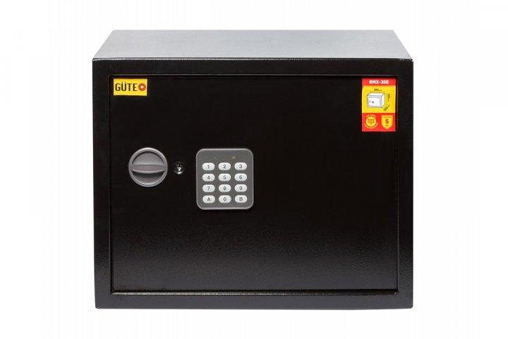 Офисный сейф GUTE ЯМХ 30Е Черный (070215) - изображение 1